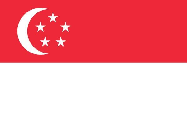 Bandera de Singapur